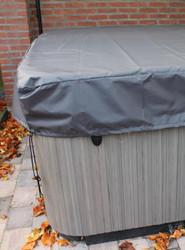 Premium Spa Cover Cap MEDIUM BLACK (CHARCOAL)