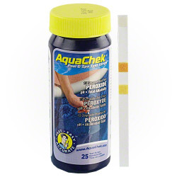 AquaChek Hydrogen Peroxide Test Strips 25ct.