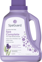 Auto Shipment SpaGuard Spa Complete 72oz. - Free Shipping Subscribe Below for Discounts