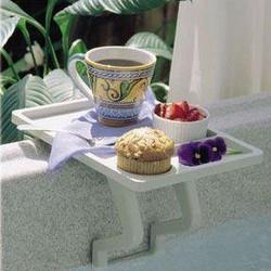 Aqua Tray Spa Side Table Limited Stock