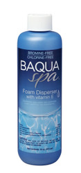 Baqua Spa Foam Disperser with Vitamin E 16 oz