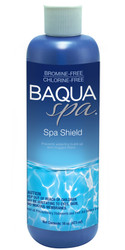 Baqua Spa ScumShield Clarifier with Scum Removing Enzyme Action Cleaner