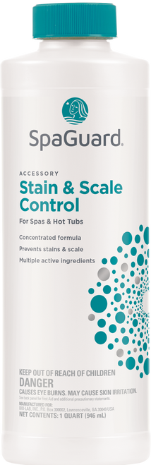 SpaGuard 32 oz Stain and Scale Control - Lowest Price