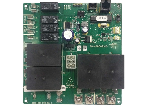 6600 101 jacuzzi j 300 3 pump lcd circuit board 2002 2006 rh spaandpoolstore com