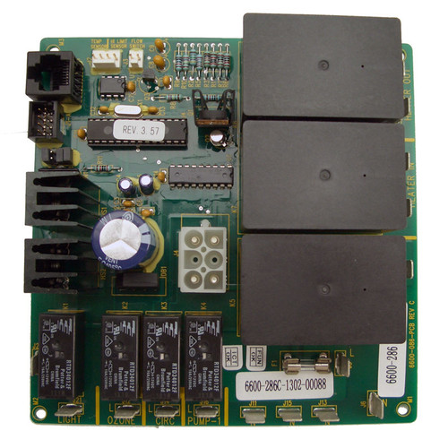 6600-724 formerly 6600-044, 6600-286, Sundance Spas, Jacuzzi Hot Tubs Circuit board, Circulation Pump Systems only