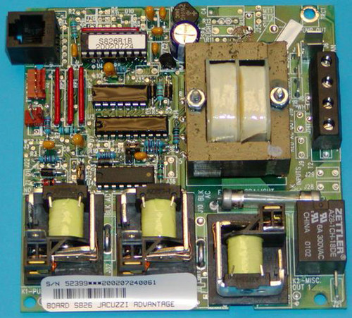 2600-024 JacuzziCircuit Board, Palio Upgrade