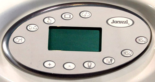 2600-325 Jacuzzi J-300 Control Panel, LCD 50Hz