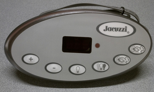 2600-328 Jacuzzi J-300 Control Panel, 2-Pump, 2007+