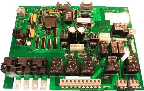 6600-101, Jacuzzi J-300 3-Pump LCD Circuit Board, 2002-2006