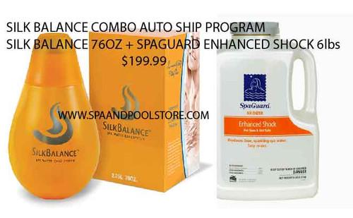 Silk Balance Combo Auto Ship with Spa Guard Enhanced Shock