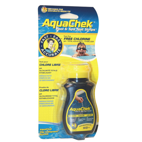 AquaChek Yellow - Chlorine 50 count