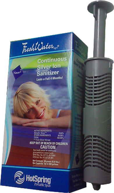 71325 Hot Spring Portable Spas Fresh Water Ag Silver Ion Mineral Sanitizer
