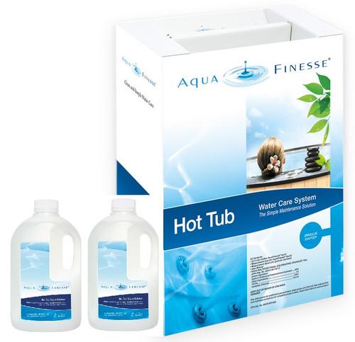 Aquafinesse - Hot Tub Care System (Granular Chlorine Kit)
