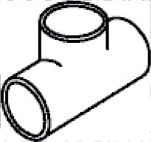 """Tee, 1.5"""" Slip (6540-080)"""