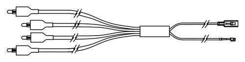 LED Light Quad Pin (6560-558)