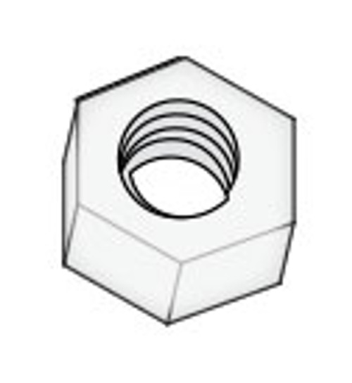 "Hex Nut 3/8-16"" Nylon Daisy (6540-384)"