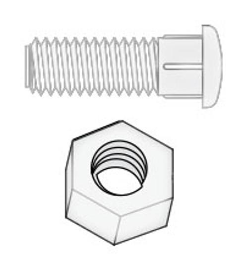 Pin Lights Lens Daisy Chain w/ Nut (6541-647)