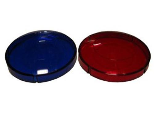 Red and Blue Light Lens Set (6560-264)