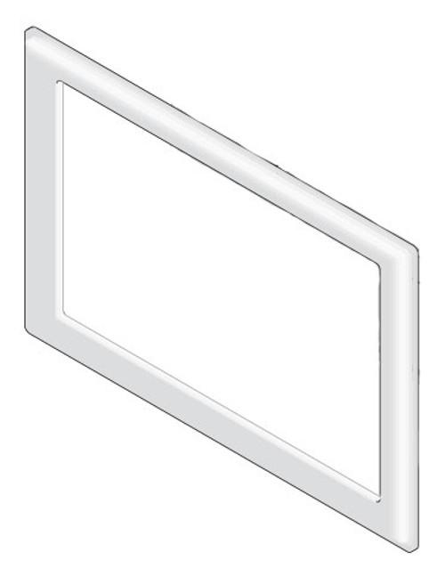 Bezel: Stereo ABS Gray 2007 (6000-275)