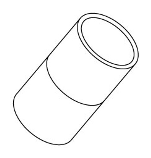 "PVC Couplings 1"" Slip (6540-010)"