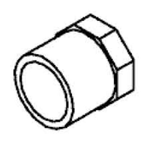 """Plug: 1"""" Spigot (6540-060)"""