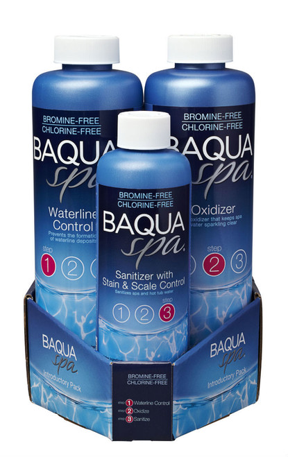 Baqua Spa 3 Part Introductory Pack FREE SHIPPING