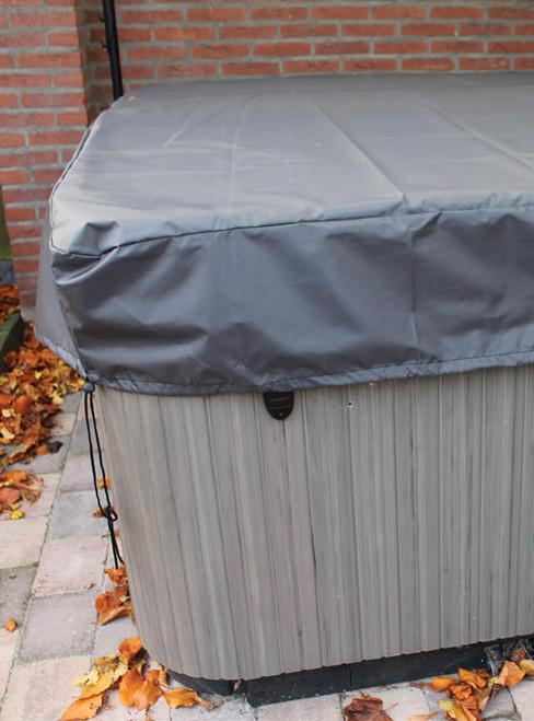 Premium Spa Cover Cap LARGE GRAY