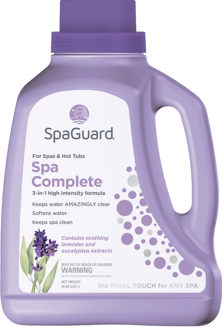 SpaGuard Spa Complete 72oz. - Free Shipping