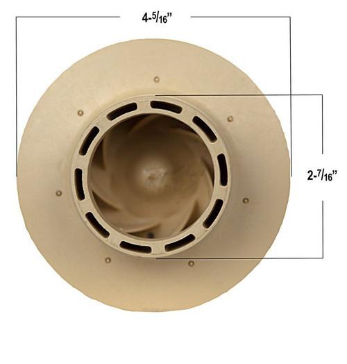 6500-612 Sundance® Spas/ Jacuzzi® Hot Tubs LX 56 Frame Impeller 2.5HP