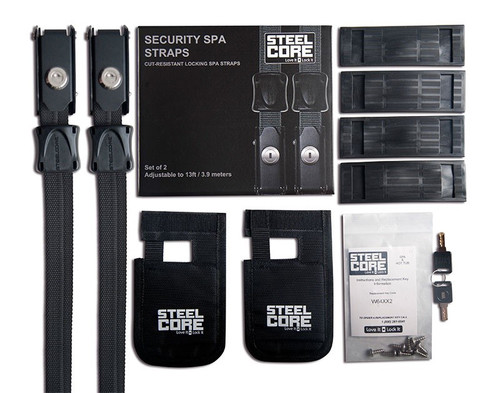 SteelCore Security Spa Straps