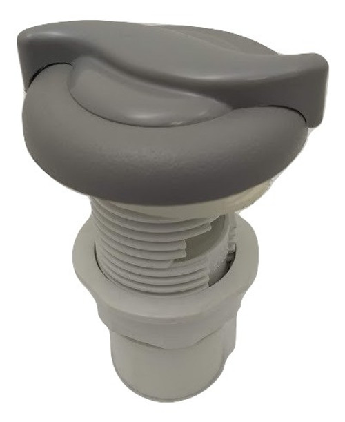 6541-281 Air Control with Knob Textured Gray - Prior to 04/2012