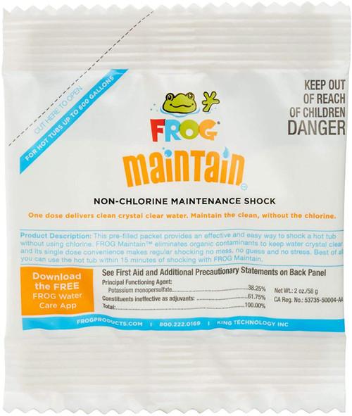 Spa Frog Maintain™ Non Shock Oxidizer 2oz. Packet (01-14-6132)