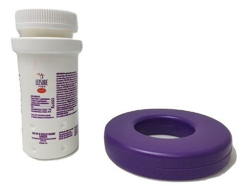 Leisure Time Bromine Tab Starter Floater 3.5oz. with Float Ring