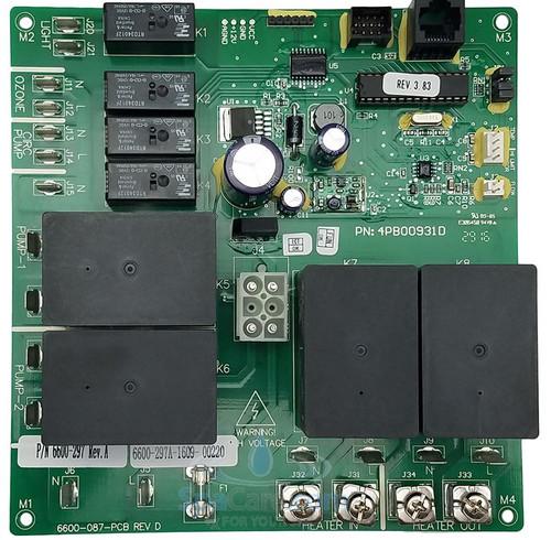 6600-297 All 2014-2015 2-Pump J-300 Series Circuit Board
