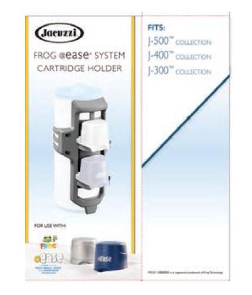 6473-316 Frog @Ease System Cartridge Holder for Jacuzzi Hot Tubs