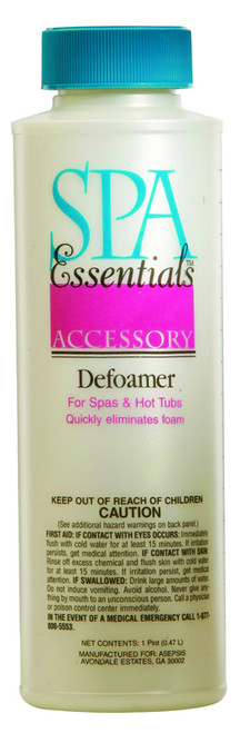 Spa Essentials Defoamer 16 oz