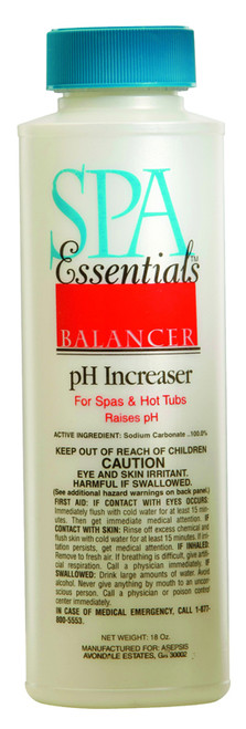 Spa Essentials pH Increaser 18 oz