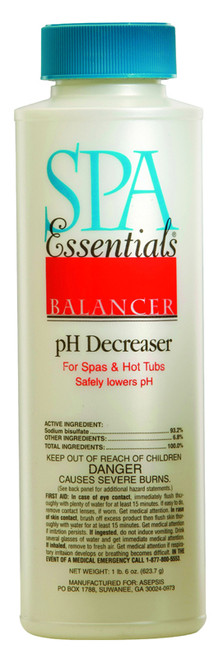 Spa Essentials pH Decreaser 22 oz