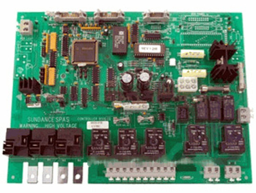 6600-028, Sundance Spas Circuit Board, 1997-2000 with Permaclear