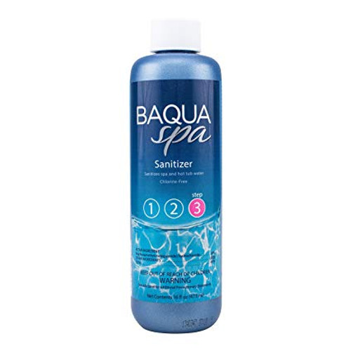 Baqua Spa Sanitizer 16 oz-- See Below For Mail in Rebate Up To $10