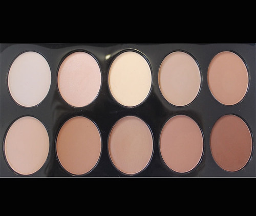 Crown Brush 10 Color Contouring Palette