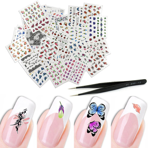 3D Nail Sticker Assorted Designs