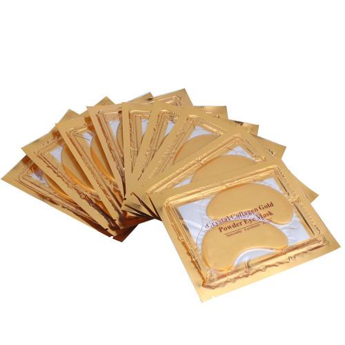 Crystal Collagen Gold Masks