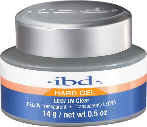 IBD Hard Gel LED/UV Gel Clear (Previously Packaged as Flexible)
