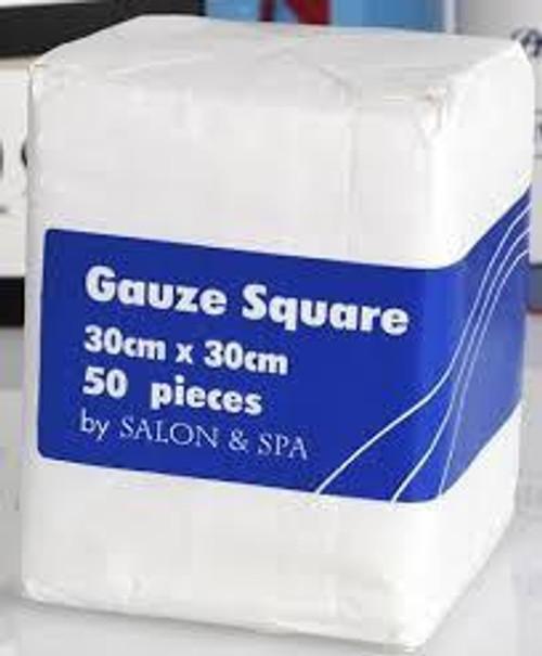 Salon & Spa Gauze Square 30 x 30 50pc