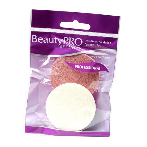 BeautyPro Two Tone Sponge 2pc