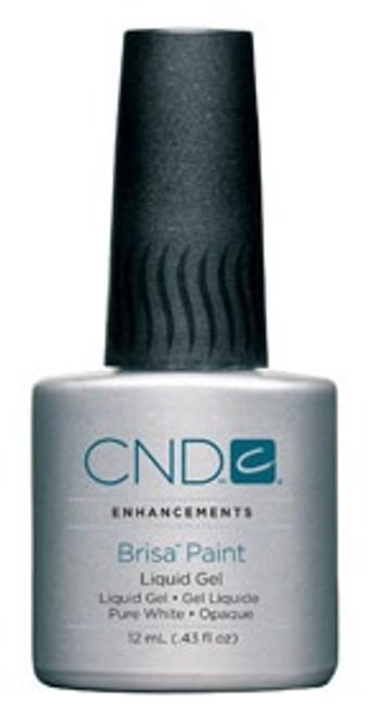 CND Brisa Pure White Gel Paint 12m