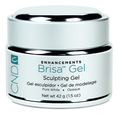 CND Brisa Pure White-Opaque Gel 14g