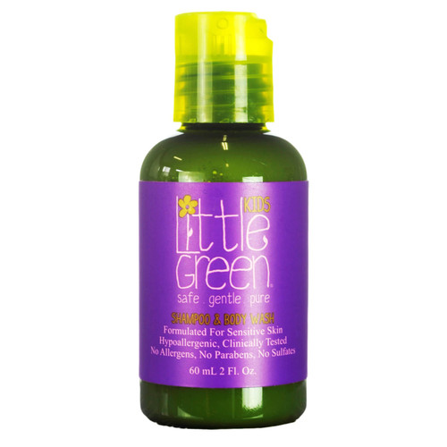 Little Green Kids Shampoo & Body Wash 60ml (Discontinued with brand)