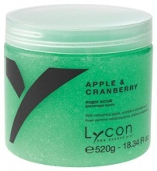 Lycon Apple & Cranberry Sugar Scrub